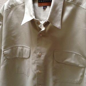 Omaggio by Robert Talbott Heather Dress Shirt